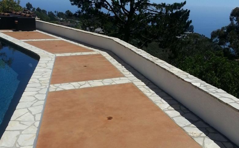 pool-deck-stain-overlay-walkway-restaurant-