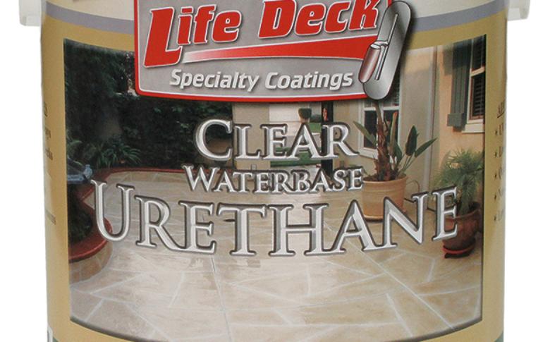 Life Deck Specialty Coatings Waterbased Urethane Coating