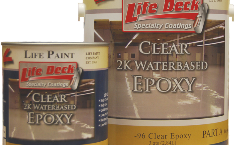 Life Deck Specialty Coatings 25-96 Water based Epoxy
