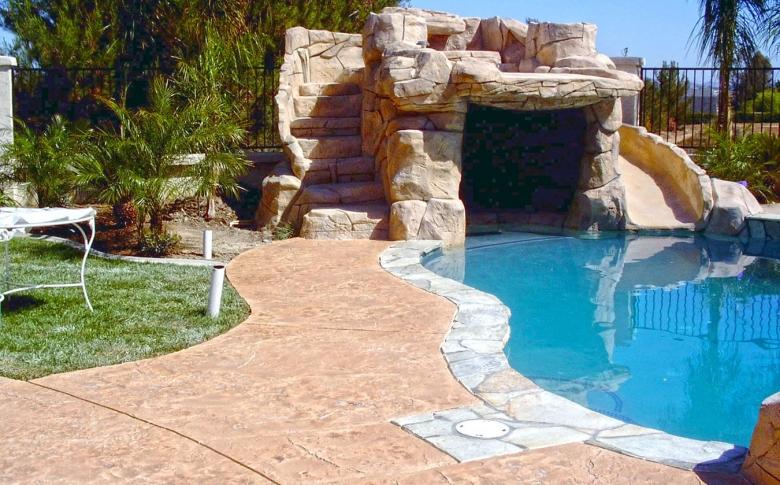 Americrete Texture Finish Luxury Pool