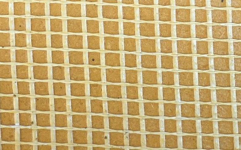 Fiberlath Sample Closeup - Life Specialty Coatings MC Waterproofing System