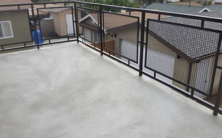 Micro Cement AL System Deck